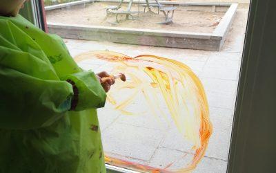 Fönstermålning på gång
