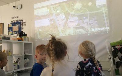 Vi tittar på kartor!