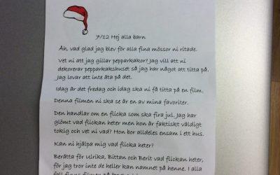 Nisseuppdrag 7/12 + Pippi firar jul