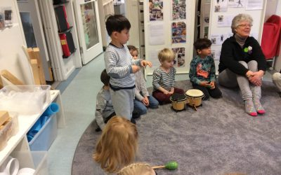 Barnet i möte med musiken