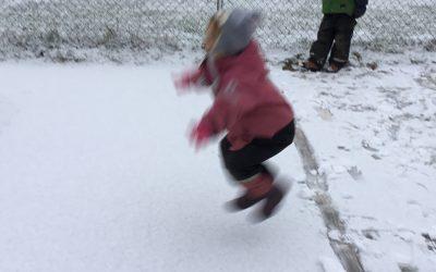 Utematematik, längd och snö.