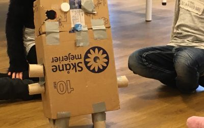 Vi bygger robotar.