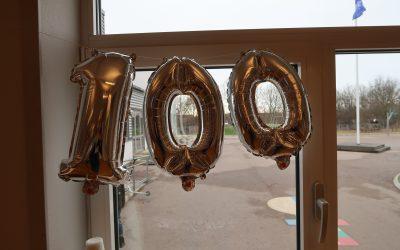 100 dagar för åk 1