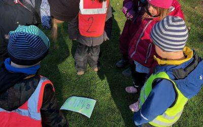 Vecka 15 – Sexårsträff och lek i Lilleskog