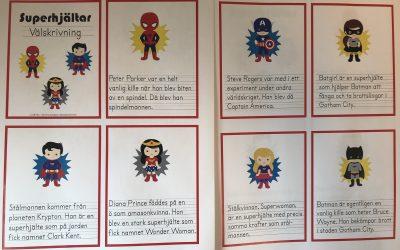 Superhjältar!