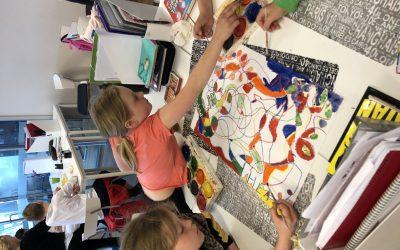 Samarbete och färglära