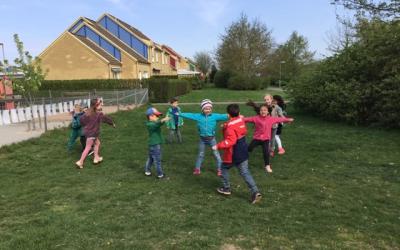Kalas för april-barnen