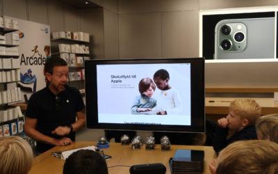 Åk 4 på Apple Store