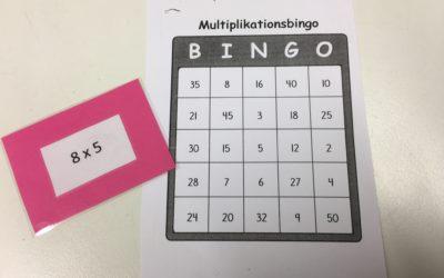 Multiplikationsbingo
