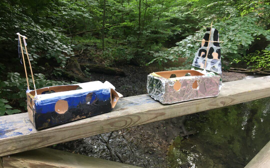 Vi bygger båtar
