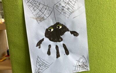 En väska med luft? Och spindlar!