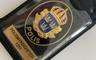 Polisbesök 🚔